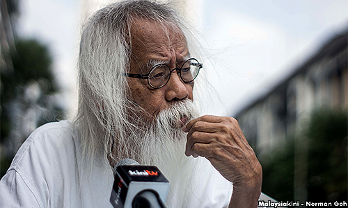 Pak Samad pens bold new chapter in politics