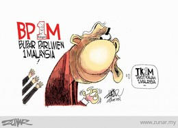 Cartoon by Zunar