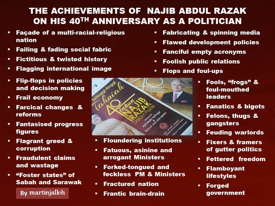 Achievements of Najib 40th Anniv MJ