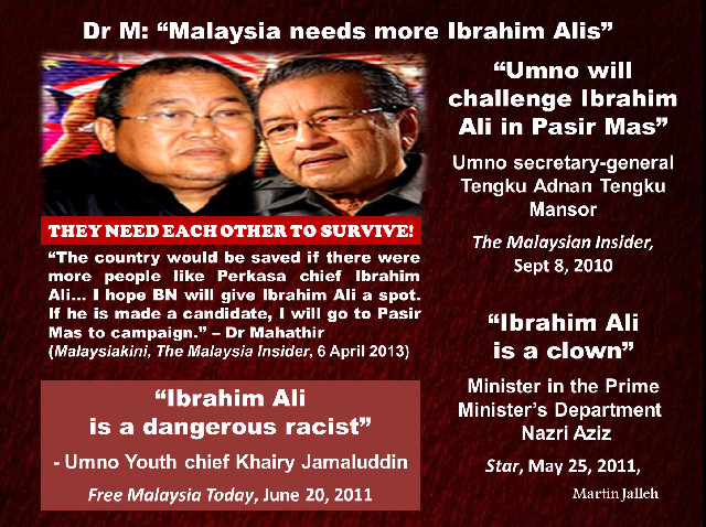 Image result for mahathir and perkasa