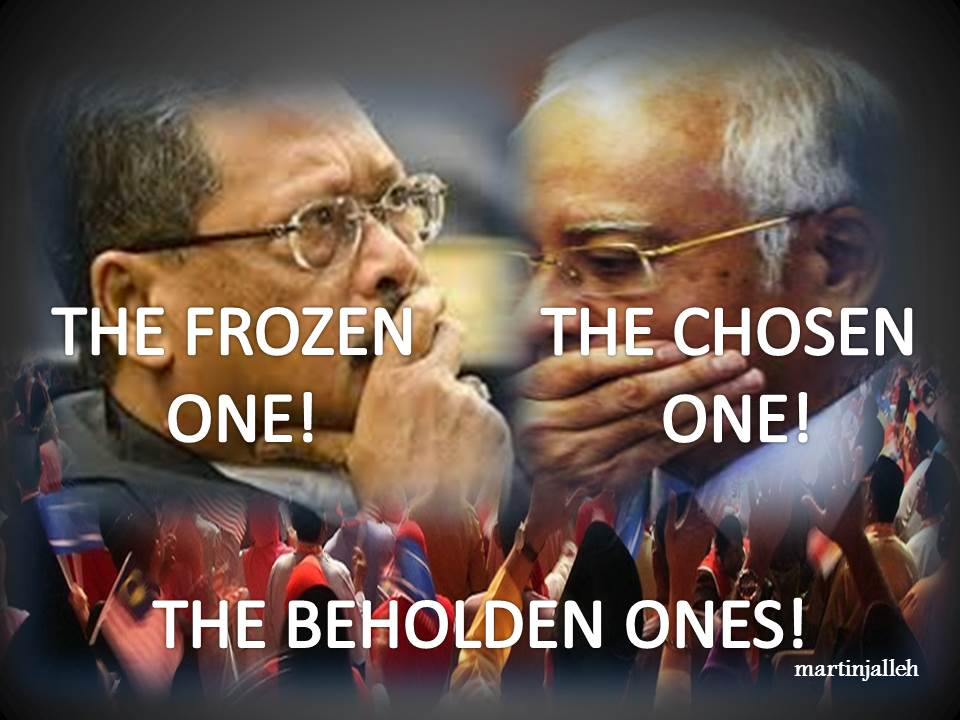 The Chosen, Frozen & Beholden Ones!