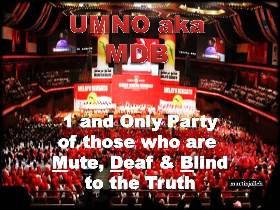 AGM of Umno also known as 1MDB